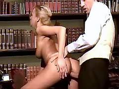 Young office girl fucked